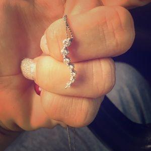 1/4 carat Diamond Journey pendent